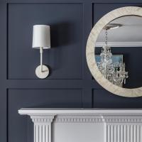 Daily Find | Pottery Barn Miranda Capiz Round Mirror ...