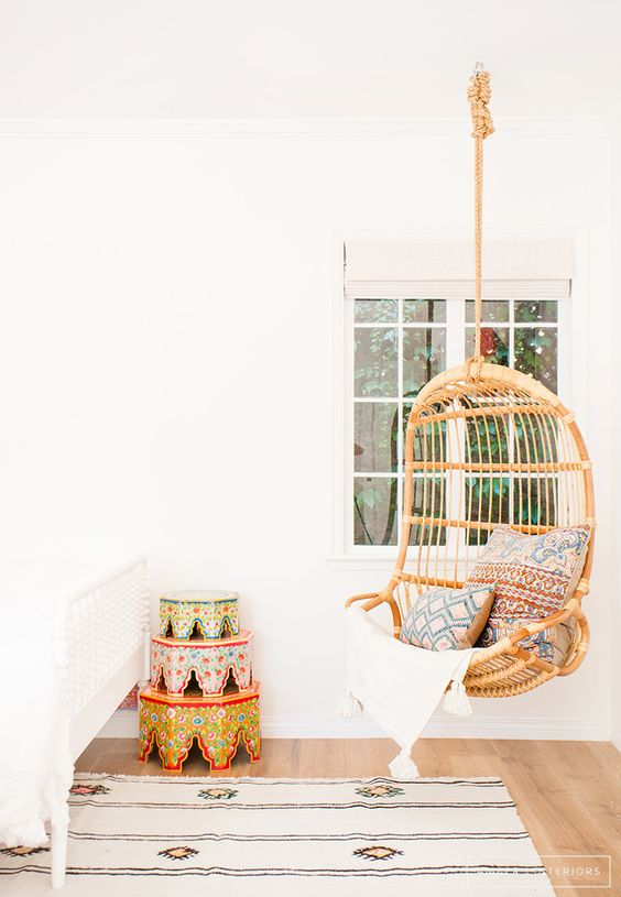 Daily Find | Serena U0026 Lily Hanging Rattan Chair