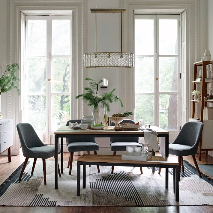 Wallpaper Fall Farmhouse Daily Find West Elm Box Frame Dining Bench Copycatchic