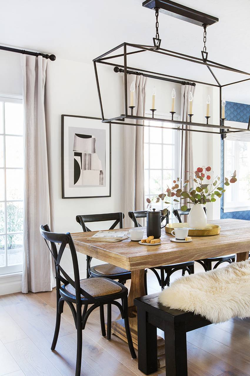 Room Redo  Neutral Scandi Dining Room  copycatchic