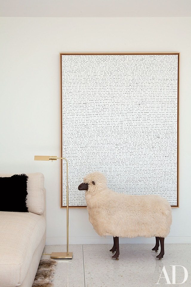 Wallpaper Fall Farmhouse Daily Find 1st Dibs Lalanne Style Sheep Sculpture