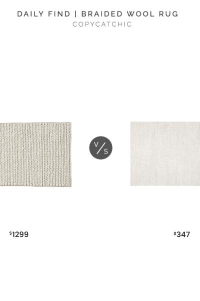 Restoration Hardware Braided Wool Rug Copycatchic