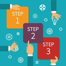Three Steps Infographics