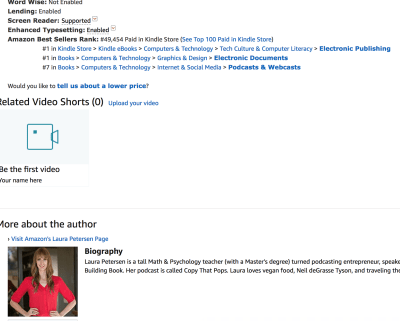 book bestseller on amazon