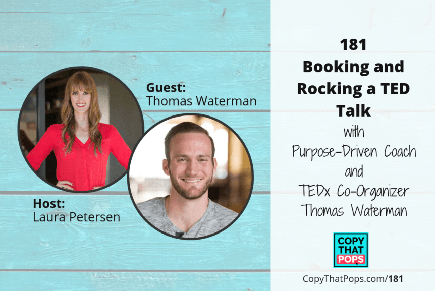 181 Featured image for Copy That Pops podcast episode - Thomas Waterman