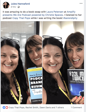 jules and laura we are podcast books