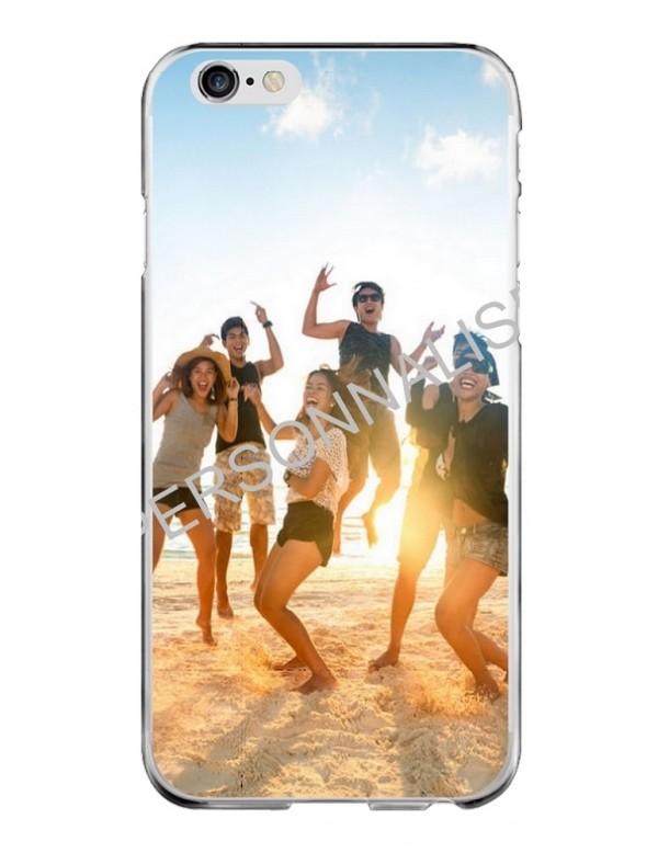coque personnalisable pour iphone 6 6s contour souple transparent