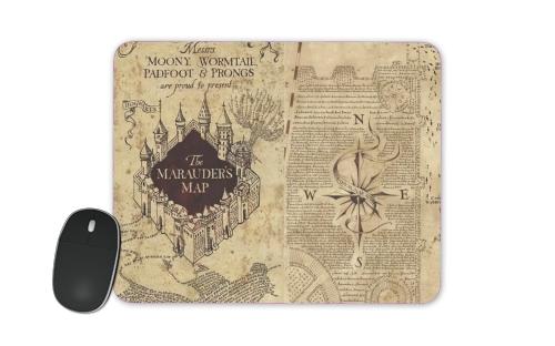 tapis de souris carte marauder navigation