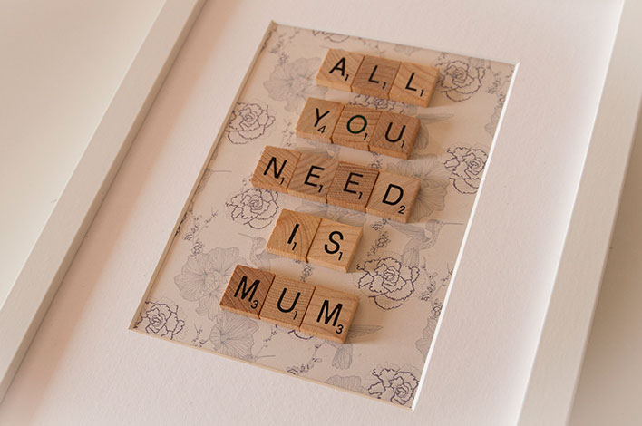cadeau fete des mères all you need is mum