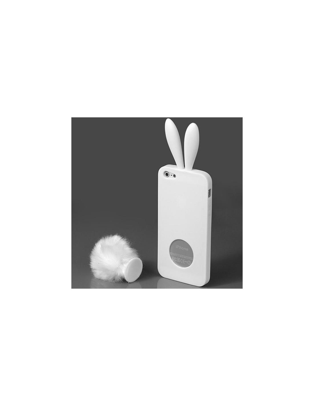 Coque Lapin pour iPhone 55S et SE  CoquesiPhonecom