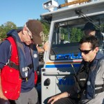 Coquitlam SAR Members on RCMP RHIB responding to Indian Arm.