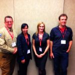 Coline Weibe, Ashley Spilak, Julie Toddington and Mike Coyle, presenters at SARScene 2013 on Social Media and SAR #SMSAR