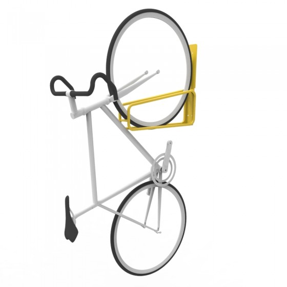 e3vr vertical wall mounted bike rack