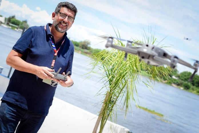 CORA - Noticias | Dr. Marcelo Taleb, realizador audiovisual y fotógrafo aéreo