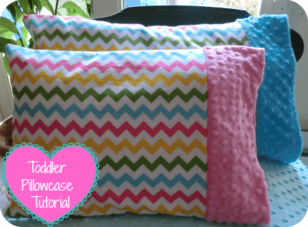 minky toddler pillow case tutorial how to sew - Toddler Pillow Case