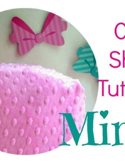 Minky Crib Sheet Tutorial – for babies and toddlers.