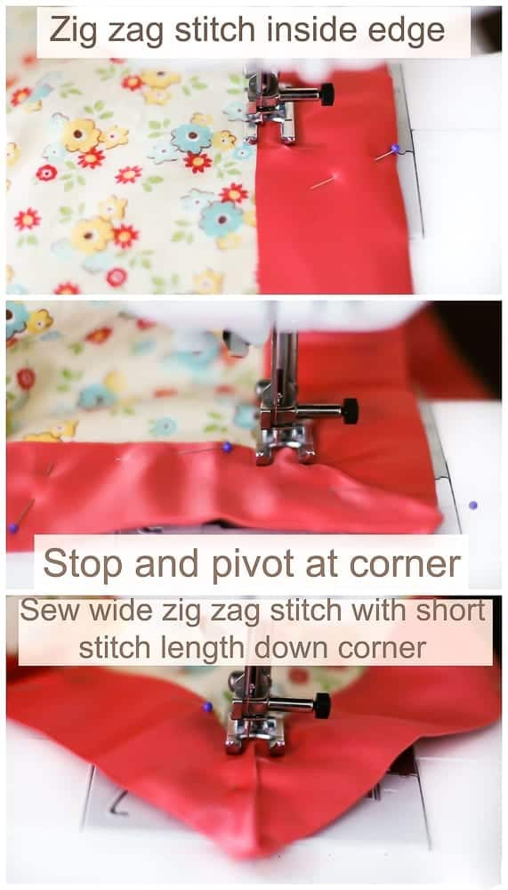 how-to-sew-mitered-corner-on-blanket-binding