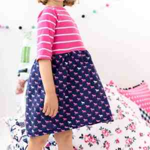 DIY T-Shirt Dress Tutorial – How to Add a Skirt to a Shirt