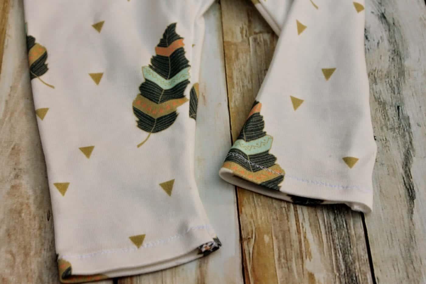 Christmas baby leggings sewing pattern go to leggings pattern