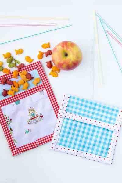 DIY Reusable Snack Bag Tutorial & Happy Earth Day!