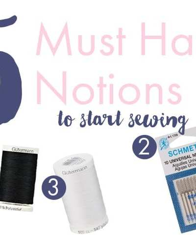 5 Must Have Supplies To Start Sewing For Beginners