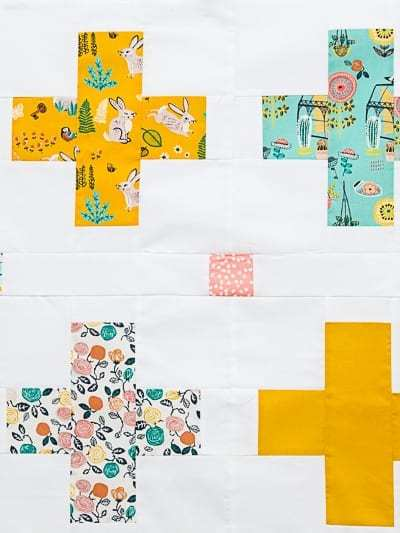 Plus Baby Quilt Block Pattern Coming Soon!