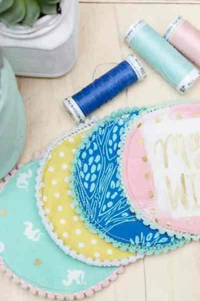 DIY POM POM Coaster Tutorial and The Joy of Creating