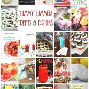 Yummy Summer Treats + Drinks