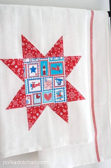 quilt-block-dish-towel-polka-dot-chair