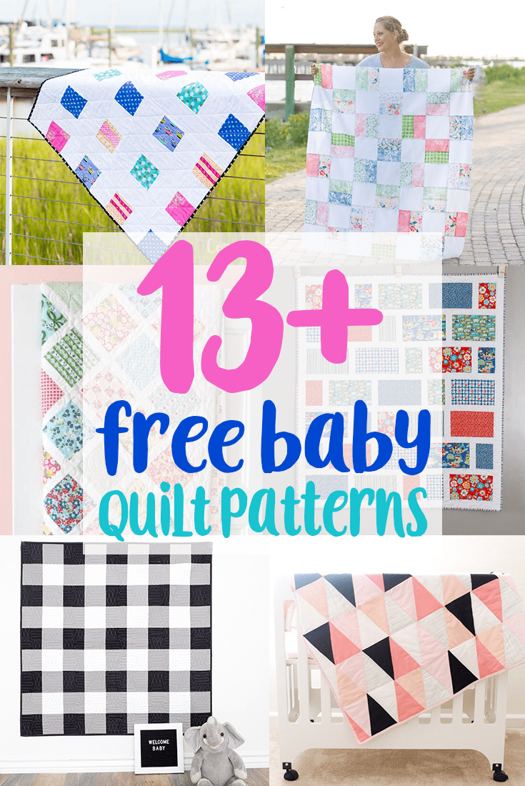 13+ Free Baby Quilt Patterns to Sew - Charming Baby Quilt ...