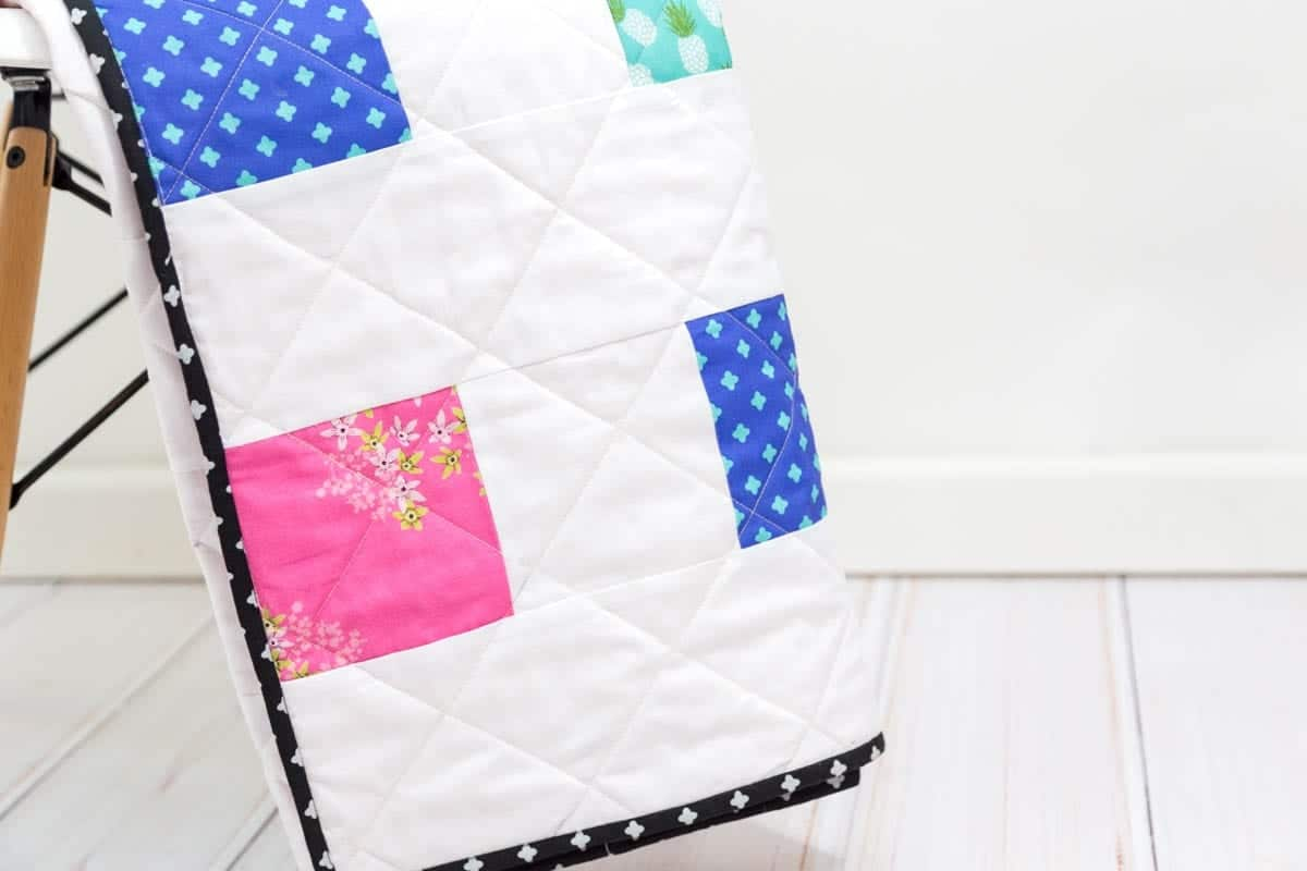 Four Square Free Charm Pack Quilt Pattern 101 Coral Co