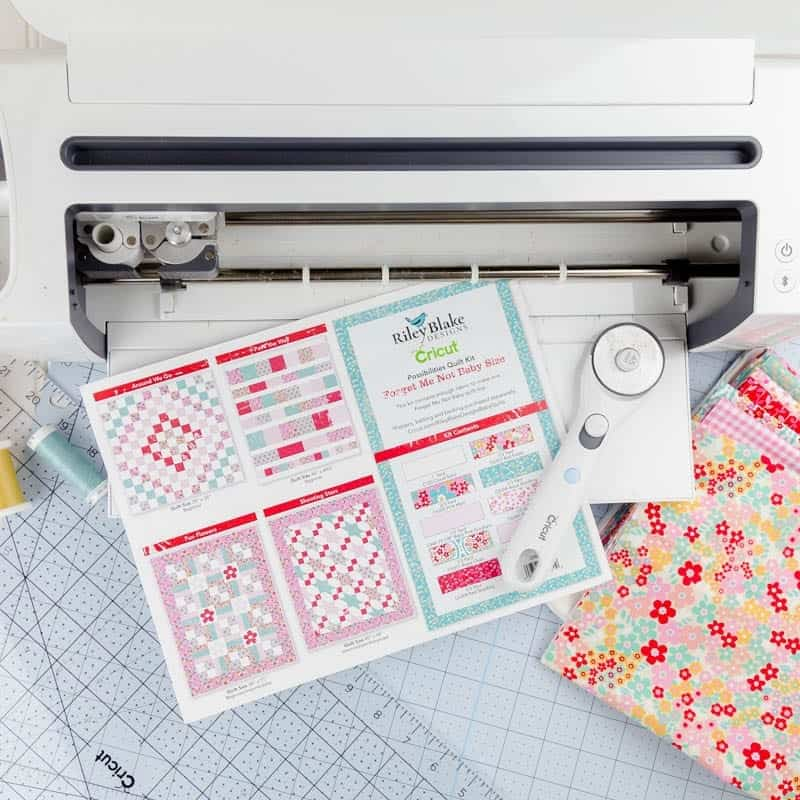 Tips for Cutting Your Cricut Maker Quilt Kit Baby Quilt ...