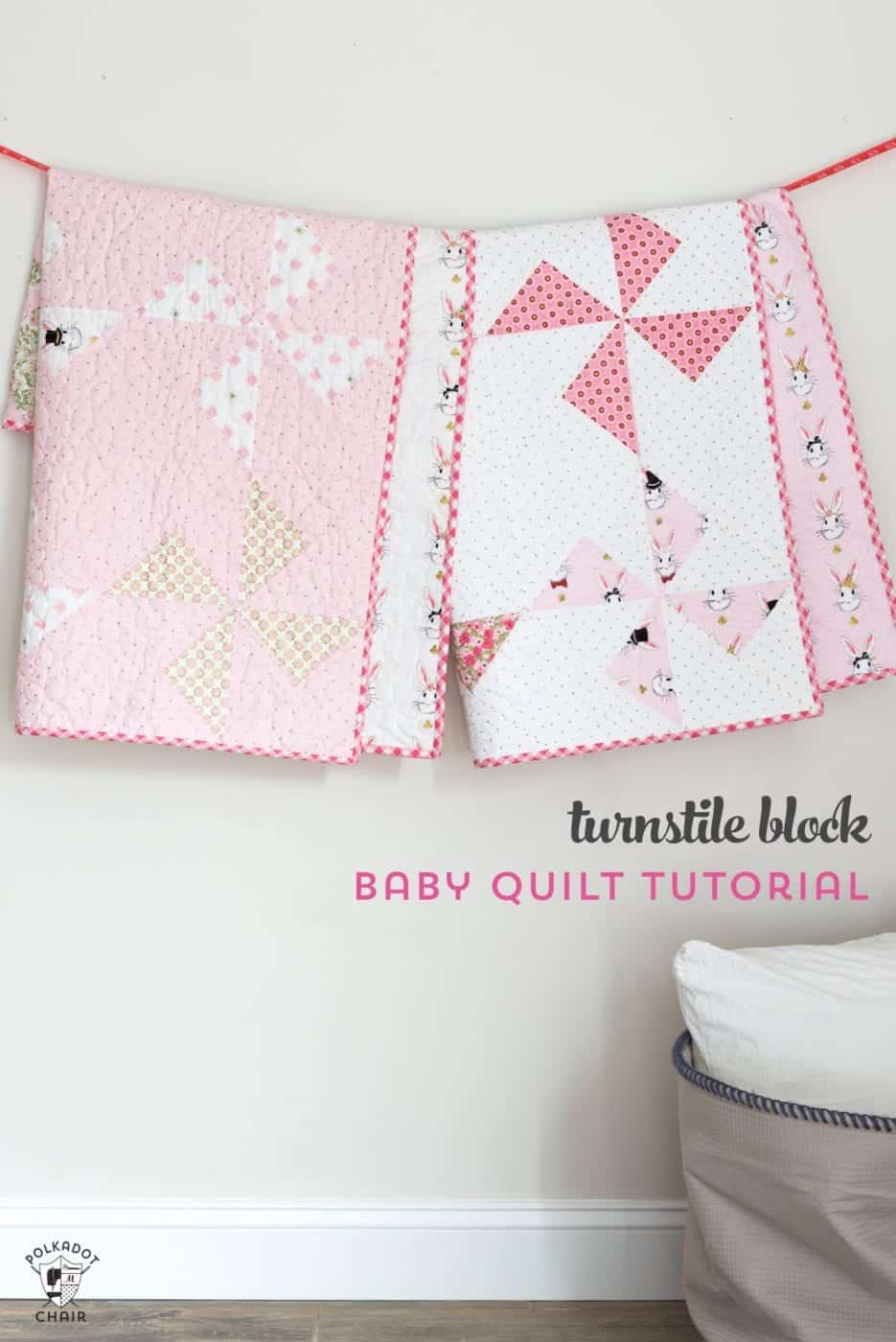 13+ Free Baby Quilt Patterns to Sew - Charming Baby Quilt