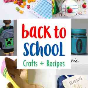 DIY Back to School Crafts, Parties, and Recipes