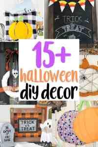 15+ DIY Halloween Decor Ideas
