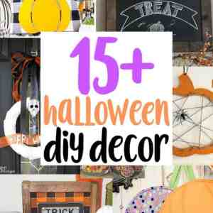 15+ DIY Halloween Decor Ideas