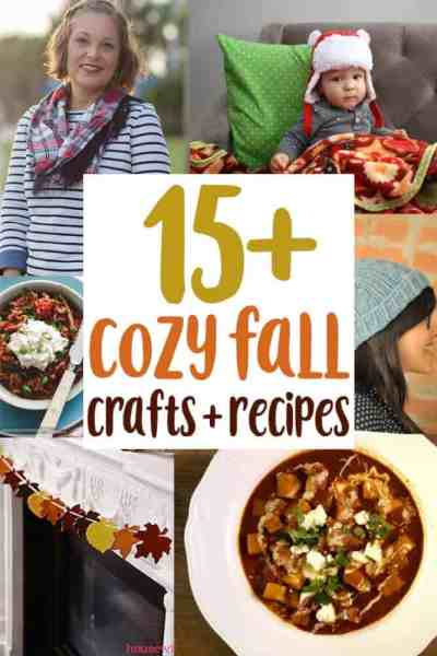 Cozy Recipes, Decor, and Crafts to Make for Fall