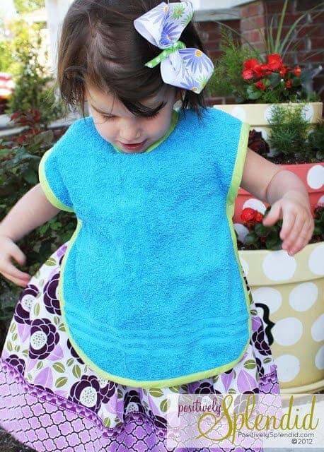 Toddler Bib & Smock Pattern