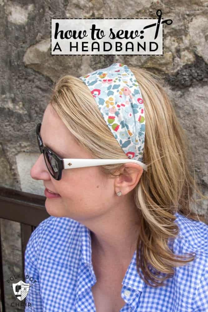 Fabric DIY Headbands from Liberty of London Fabrics