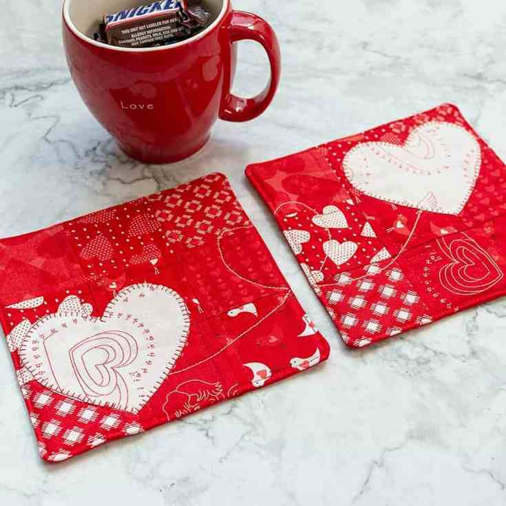 Tea Time with Friends – BFF Mug Rugs Tutorial