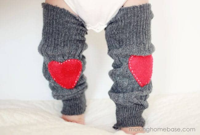 Valentine's Day Baby Leg Warmers