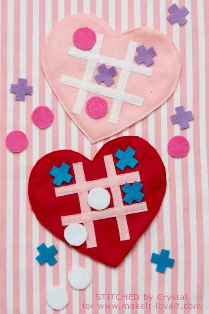 Valentine Tic-Tac-Toe Game