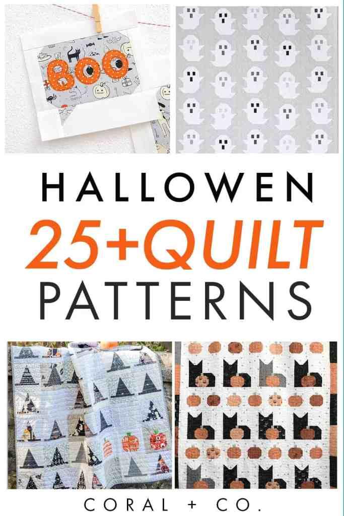 halloween-quilt-patterns-collage