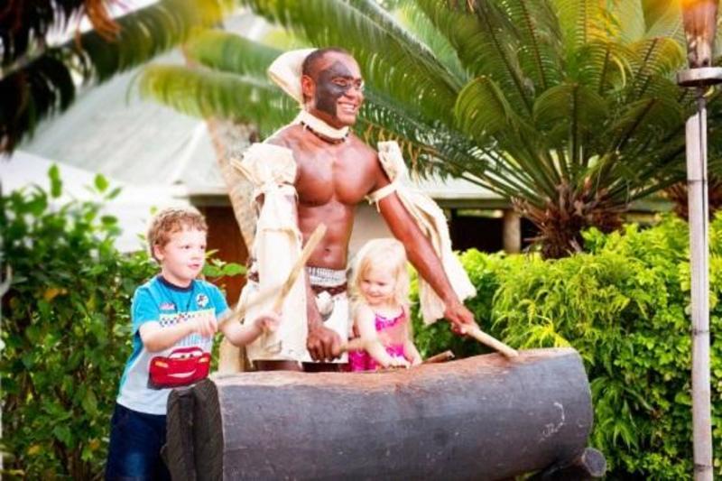 Fiji Hideaway Resort and Spa map