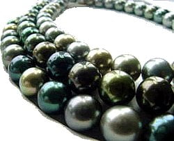 Black Pearl, Diamond Gold and Silver Jewelry