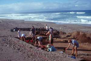 Sigatoka Sand Dunes - archaeology expedition