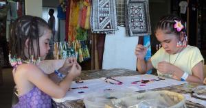 Kid's Jungle Jewellery with Namana Fiji Arts