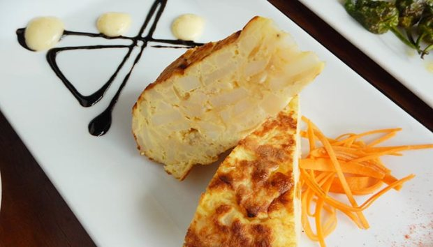 Taberna Giralda is a Spanish restaurant in Coral Gables, Florida and they serve delicious tortilla Espanola