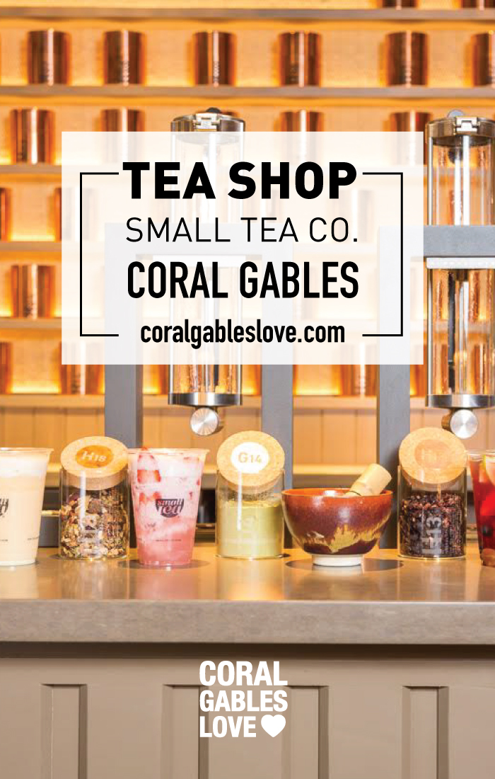 Small Tea In Coral Gables, FL. This New Tea Shop, Offering Over 80
