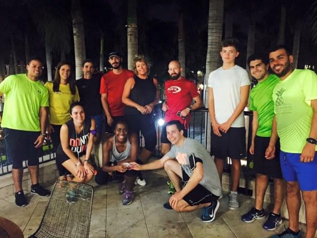 Coral Gables Run Club Group Photo